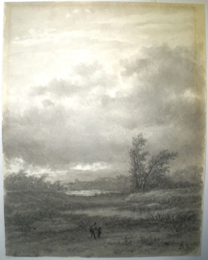 Landscape with characters