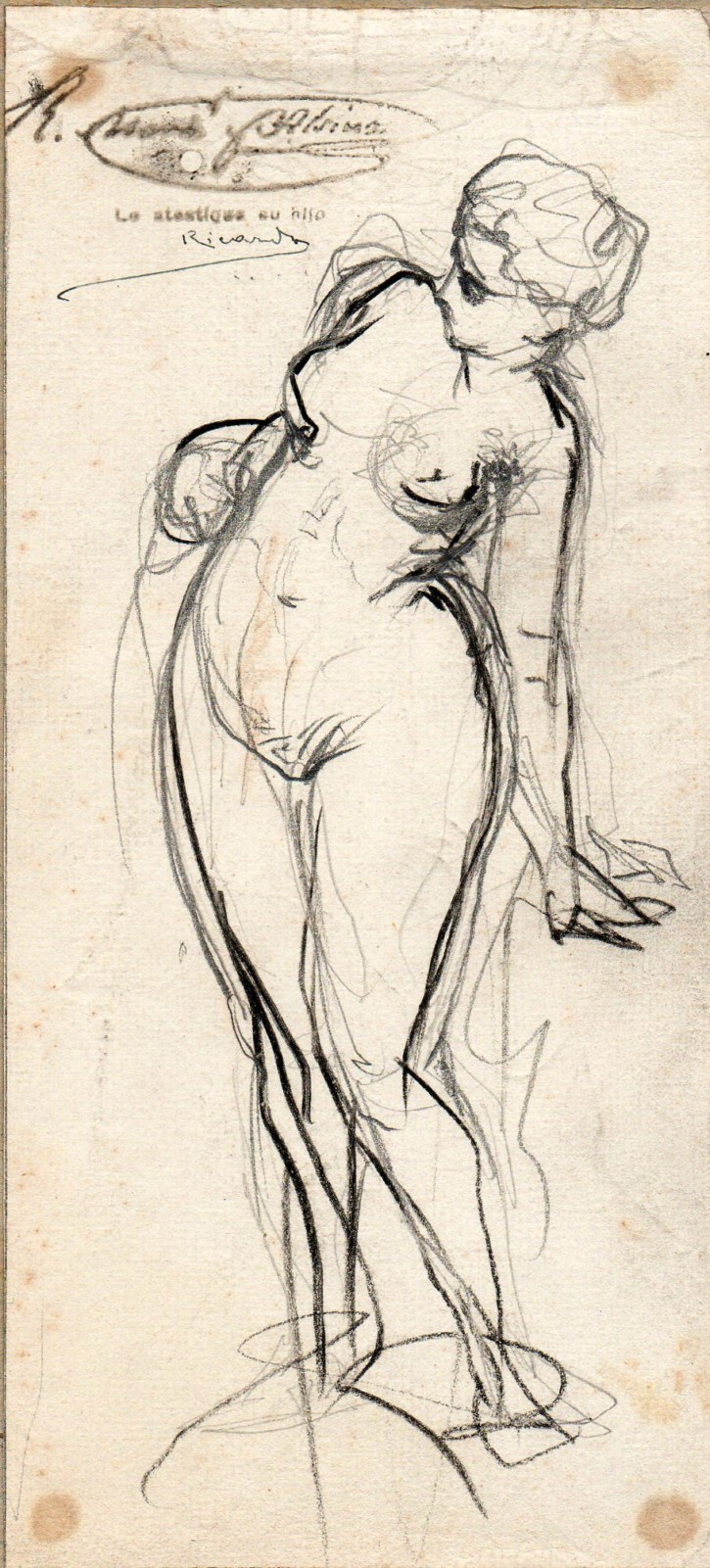Sketch of a woman