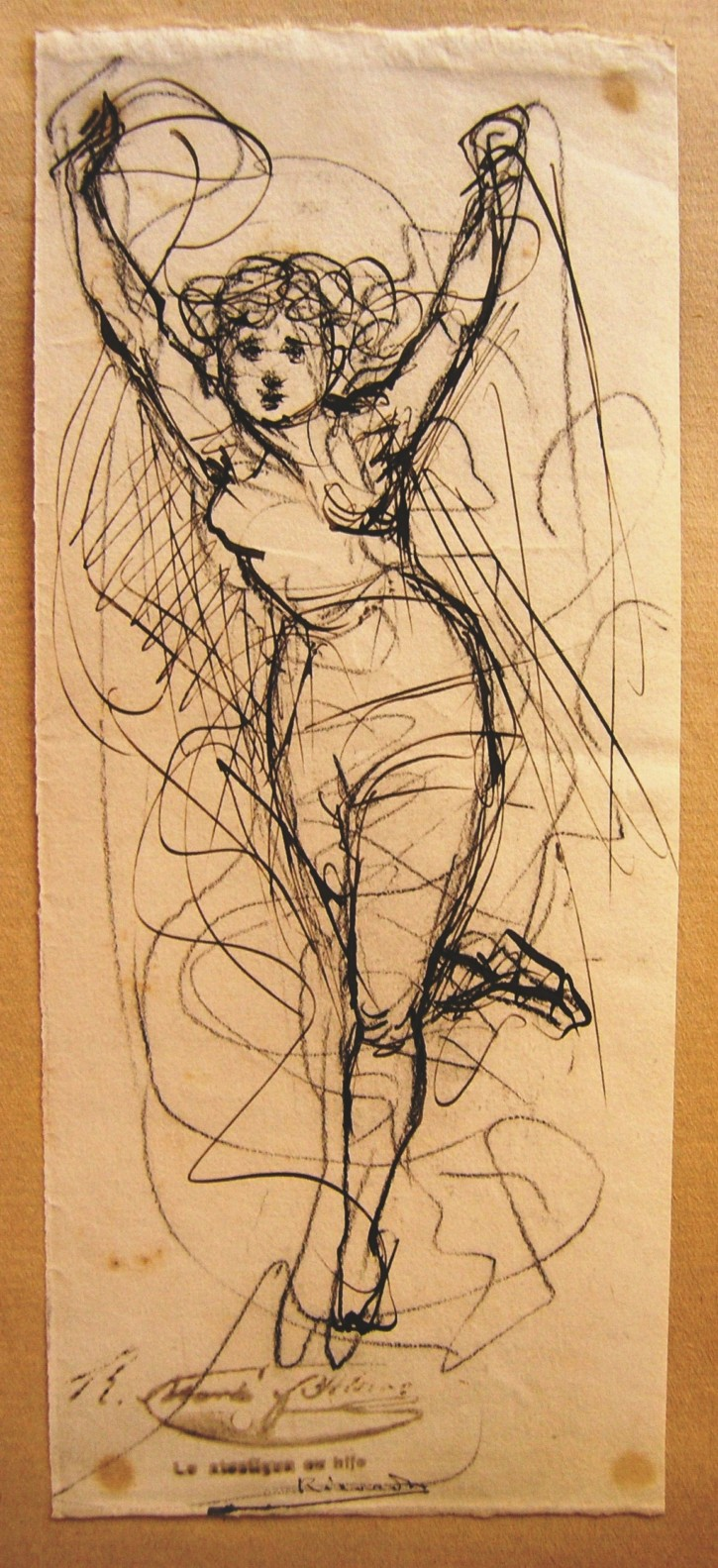 Woman in movement