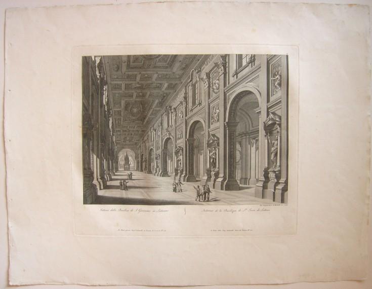 Interno della Basílica di S. Maria Maggiore