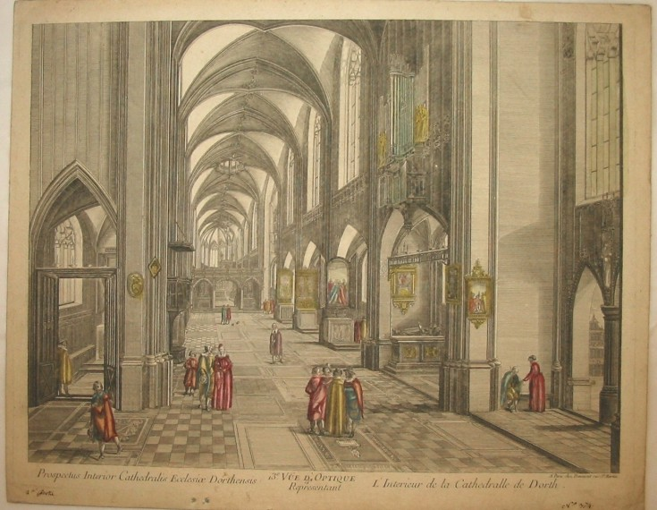 L'Interieur de la Cathedrale de Dorth
