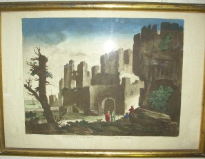 Ruines des environs de Rhodes