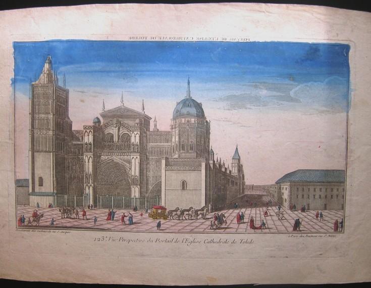 Portail de l'Eglise Cathedrale de Tolede