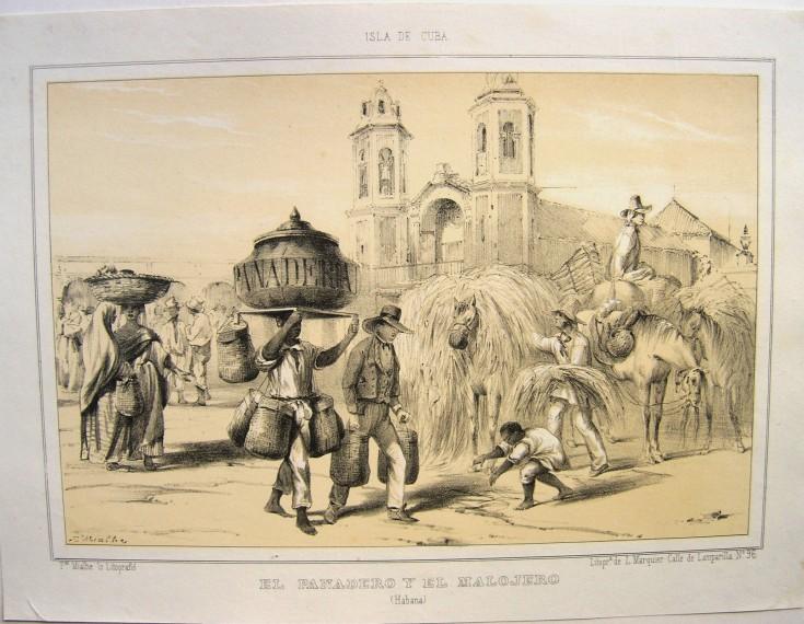 El panadero y el malojero (Habana)
