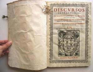 Conjunto de documentación varia de D. Héctor de Ayala