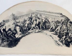 Dia 19 de marzo de 1808 en Aranjuez. Caida y prision del Principe de la Paz