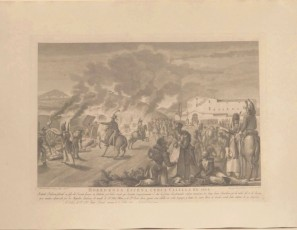 Horrorosa escena cerca Calella en 1808