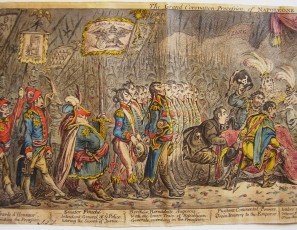 The grand coronation procession of Napoleone the 1st, Emperor of France, from the Church of Notre-Dame, Decr. 2d. 1804