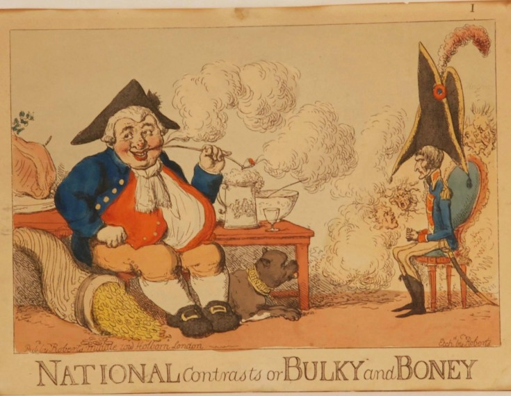 National contrasts or Bulky and Boney