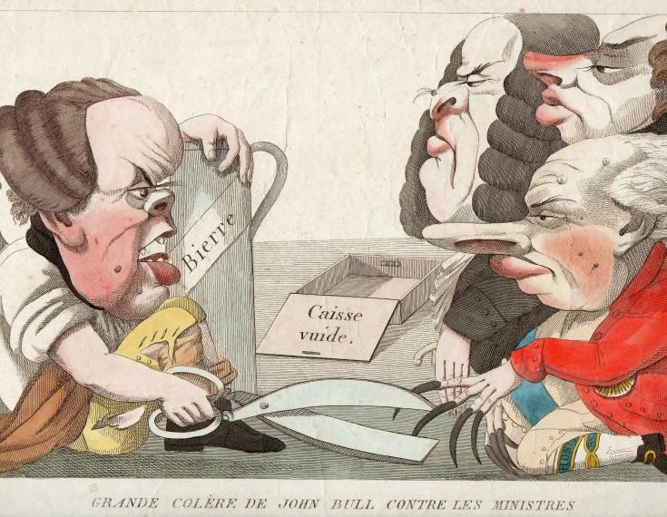 Grande colère de John Bull contre les Ministres