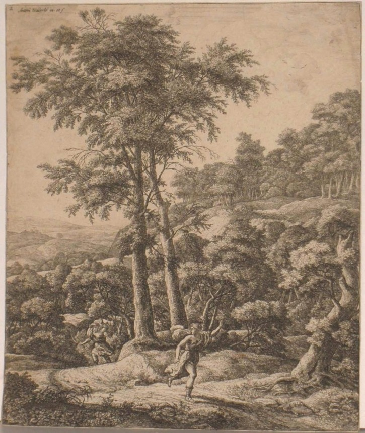 Landscape with Apollo and Dafne