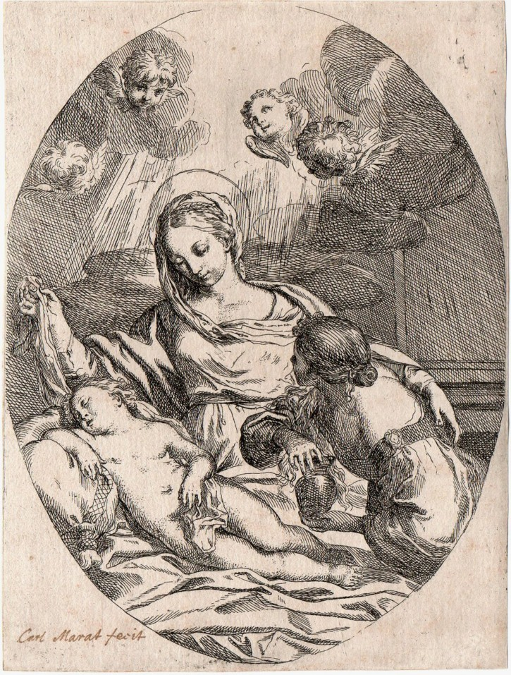 Virgin with the Son sleeping