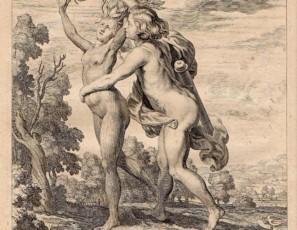 Dafne es perseguida por Apolo