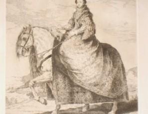 D. Isabel de Borbon, Reyna de España, muger de Felipe Quarto