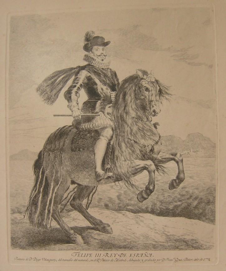 Felipe III. King of Spain
