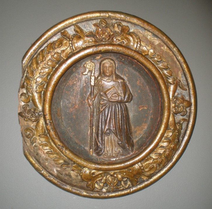Saint Clara. Key of vault