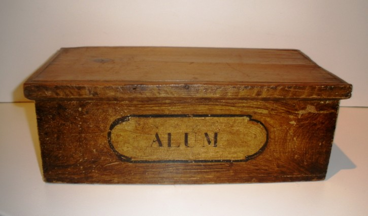 Pharmacy or herbalism box
