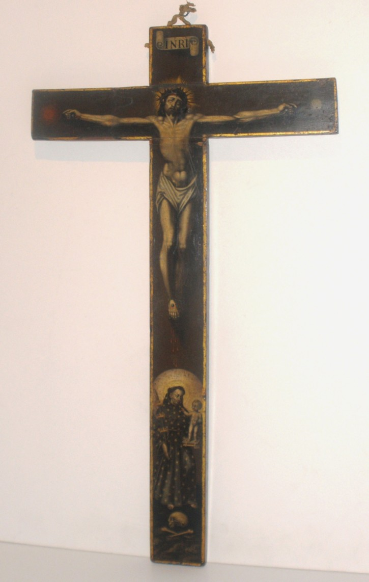 Crucifixion of Christ with Saint Anthon of Padua
