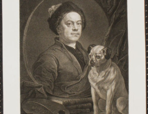 Retrato de William Hogarth