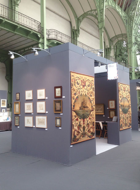 Salon International de l'Estampe et du Dessin. GRAND PALAIS. PARIS. 2016