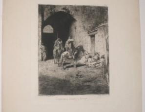 Guardia de la Kasbah en Tetuán