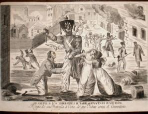 1er Grupo de los Horrores de Tarragona en 28 de Junio de 1811