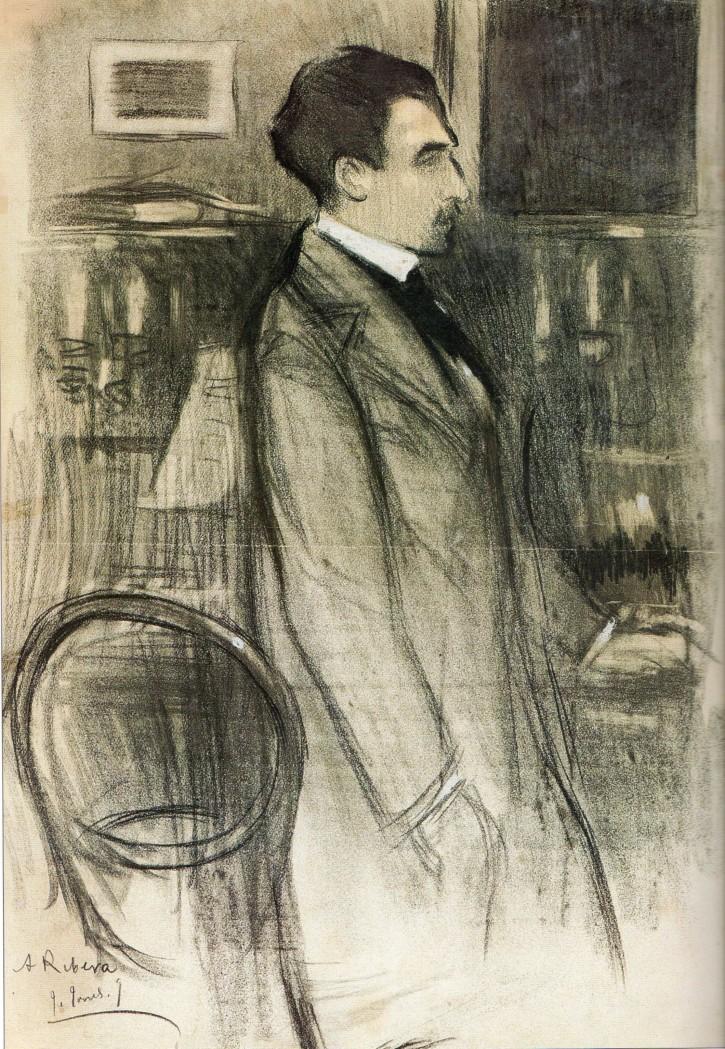 Antoni Ribera portrait