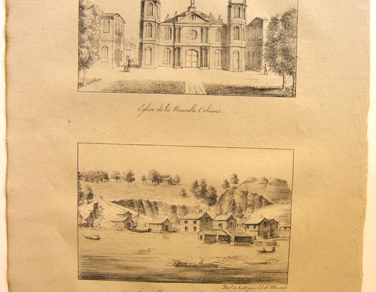 Eglise de New Orleans / Ville de Natchez