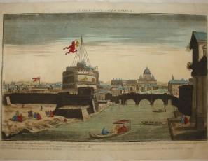 Le Pont Saint Ange a Rome