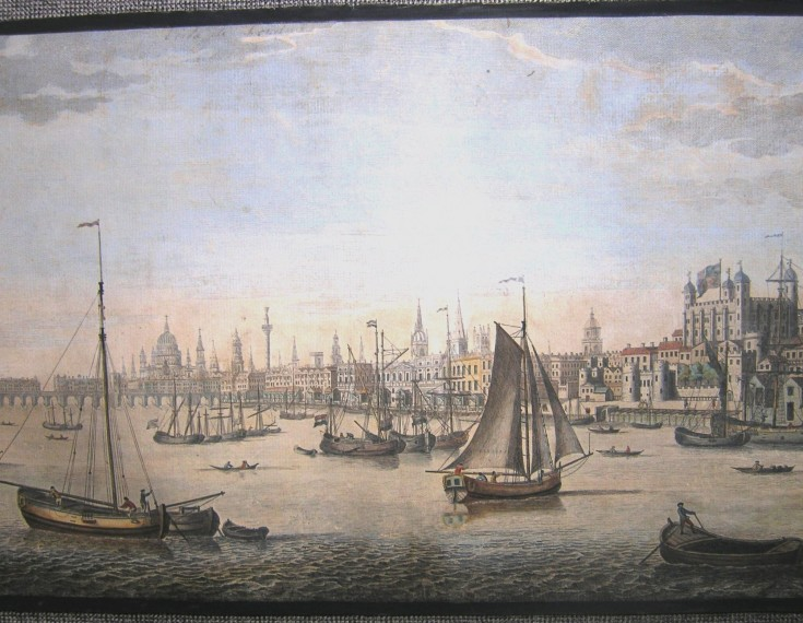 Without title (View of London)