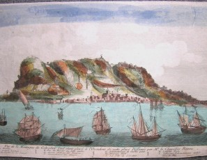 Vue de la Montagne de Gibraltar