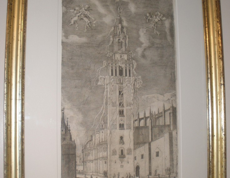 La Giralda engalanada (Arteaga y Alfaro, Matías de) - 1671 - [Fiesta y Ocio, España, XVII, Aguafuerte y buril, Papel verjurado]