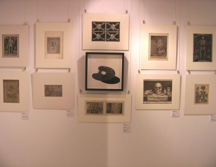 Tempvs Fvgit exhibition. Death. PALAU ANTIGUITATS.