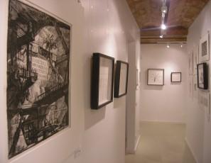 Exposición Tempvs Fvgit. Piranesi y relojes pluma, Isabel Cuadrado
