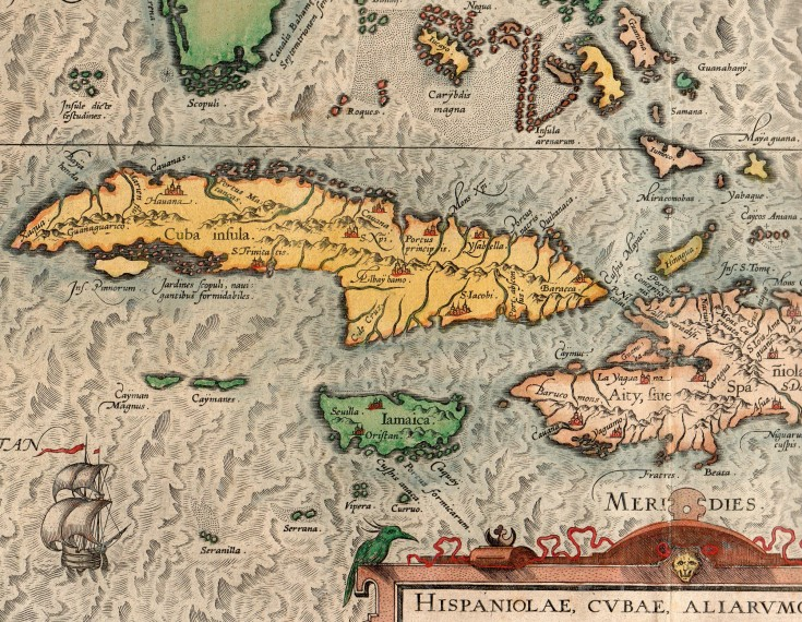 Culiacanae Americae regionis… / Hispaniolae, Cubae…