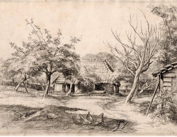 Sin título (Roig i Cisa, Pau - Sagot) - 1923-1931 - [Vistas y paisajes, Francia, XX, Aguafuerte y punta seca, Papel vitela]