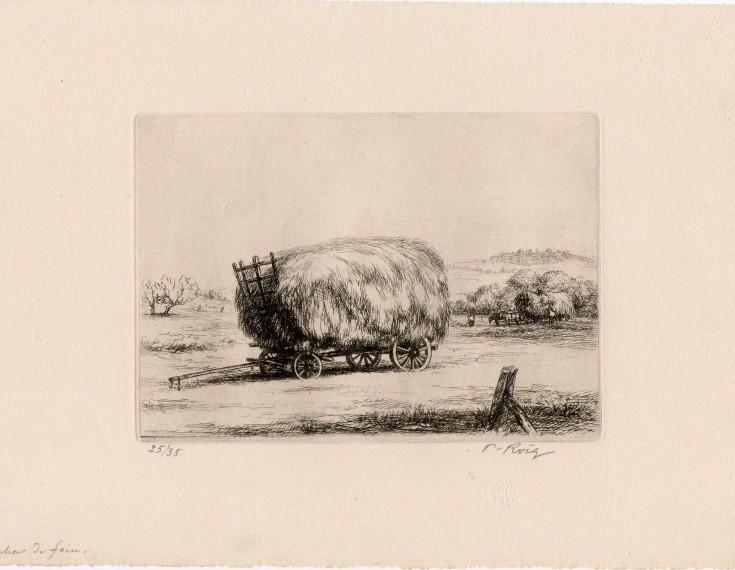 Le chair de foin. Roig i Cisa, Pau - Sagot. 1926