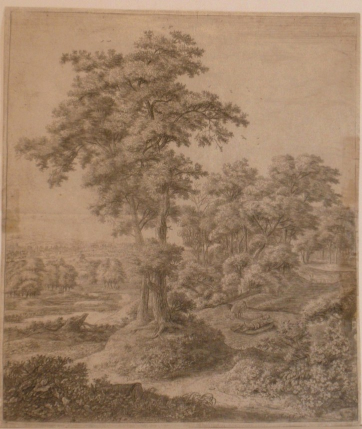 Landscape with Judá, the prophet without faith