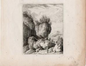 Figures on the rocks