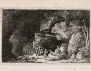 Figures on a cave