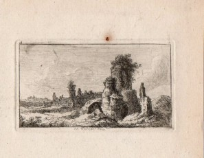 Ruins and tower