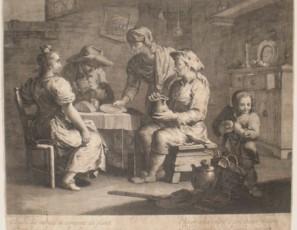 La mesa de los pobres