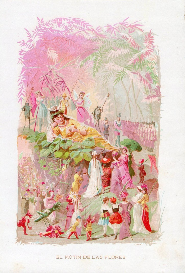 La Vida de las Flores. Simón, J. - Verdaguer, Celestino. . Precio: 100 (1)€