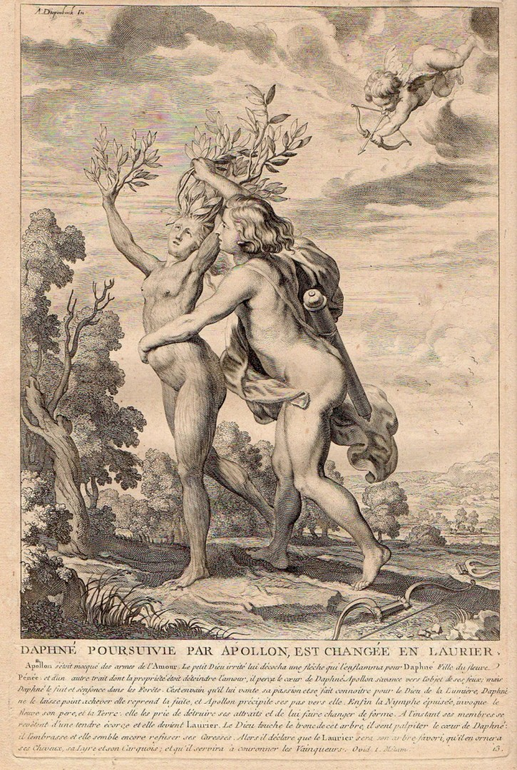 "Prints from ""The Metamorphosis"" from Ovid"
