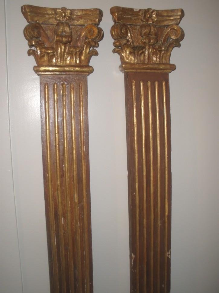 Pareja de pilastras () -  - [España, XIX, Madera, Últimas adquisiciones]