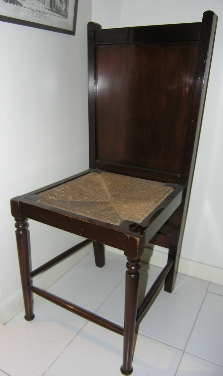 """Vallet"" chair () - Last third 19th century - [Catalonia, XIX, Wood]"