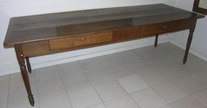 Mesa escritorio de roble