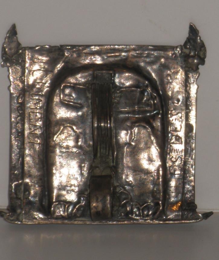 Portapaz renacentista con Crucifixión () -  - [España, XVI, Plata]