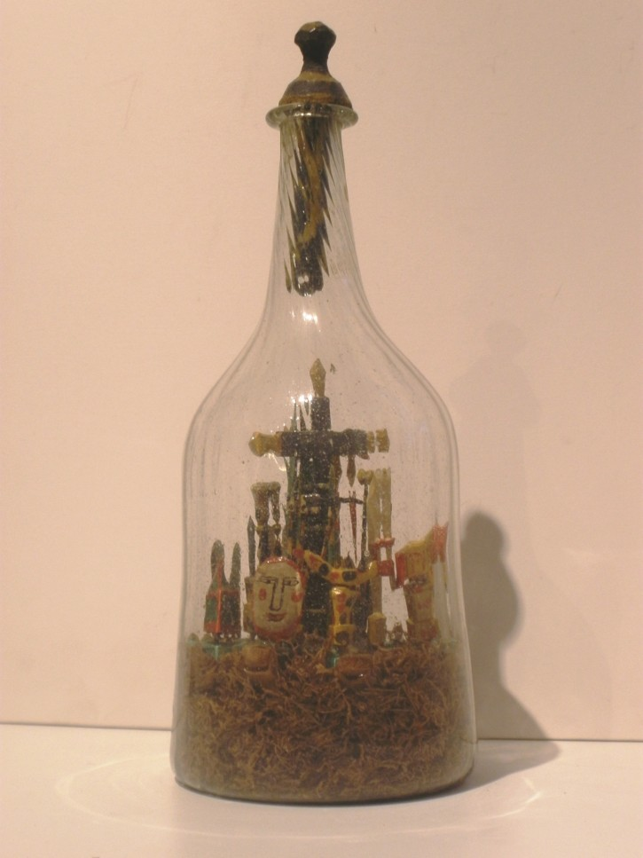 Calvary in a bottle