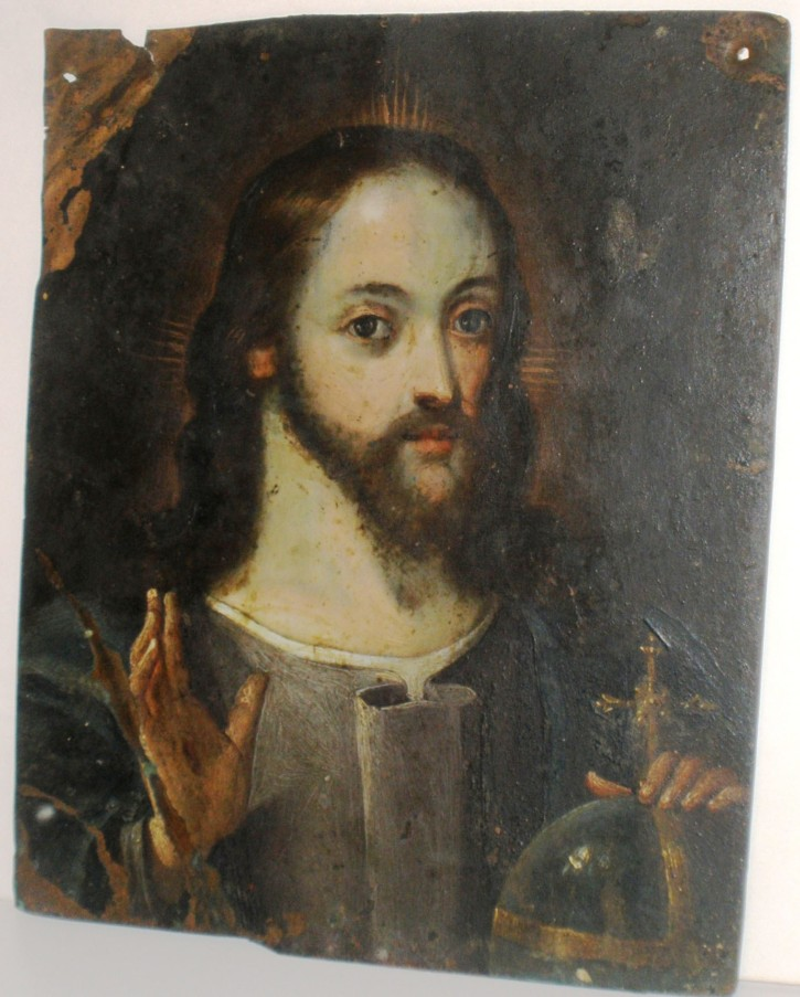Christ (Anónimo) -  - [Religion, Spain, XVII, Oil, Copper, Without frame]